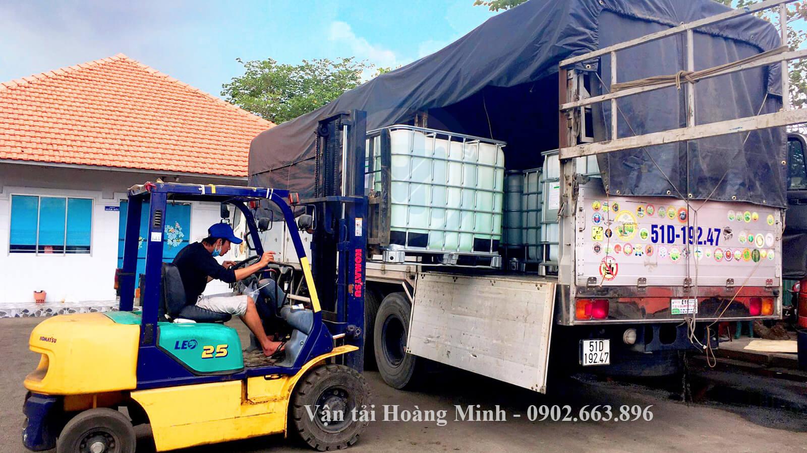 Dịch vụ vận chuyển hoá chất