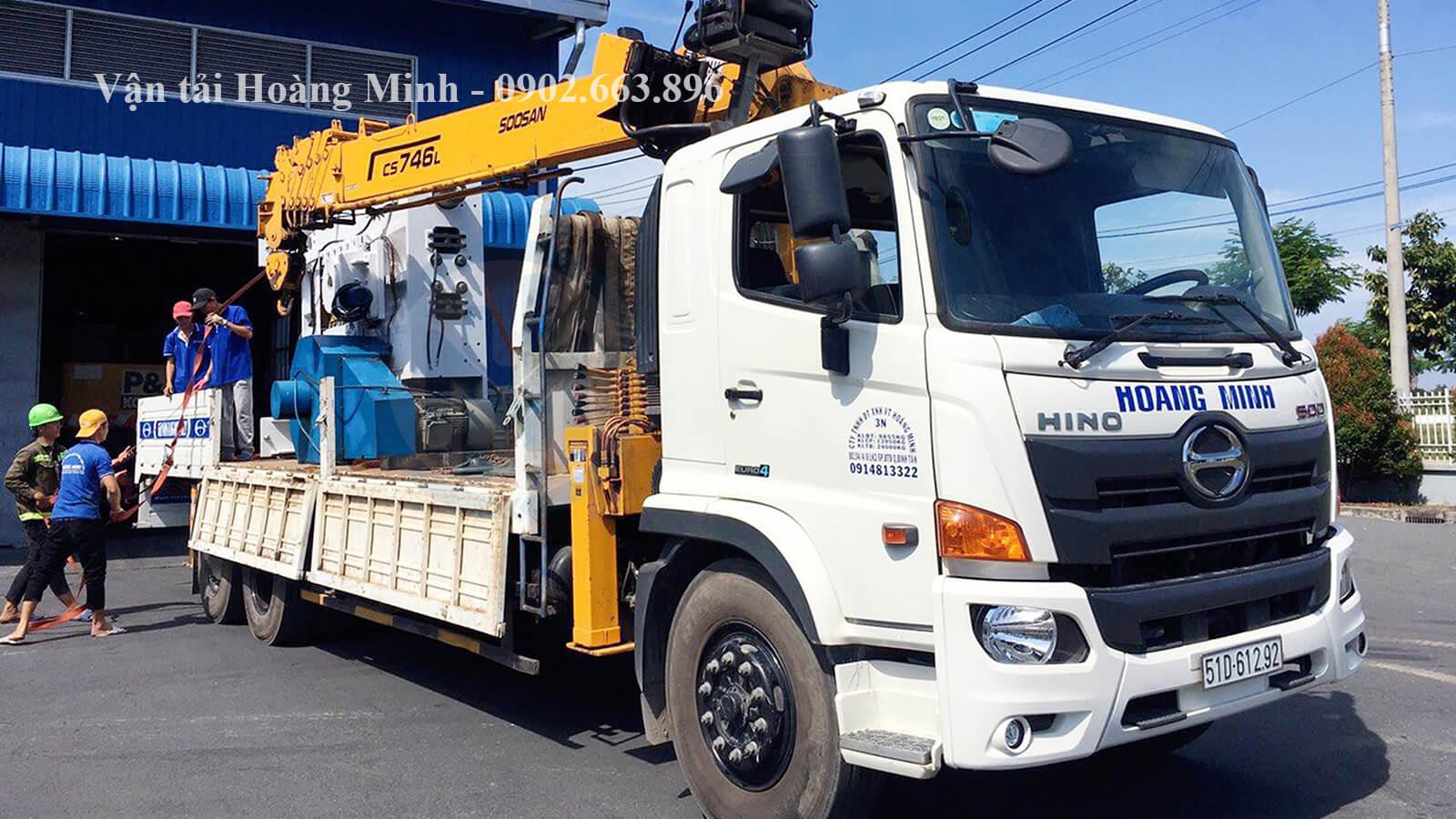 liên hệ dịch vụ xe cẩu vận chuyển hàng hoá