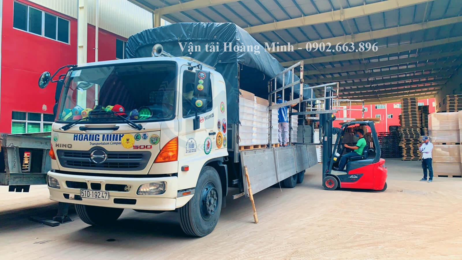 dịch vụ vận chuyển hàng hoá tại tphcm của vận tải hoàng minh