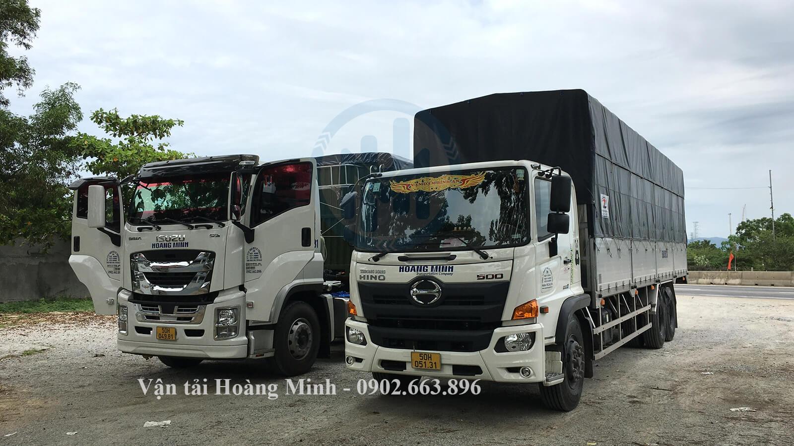 dịch vụ cho thuê xe tải chở hàng các loại