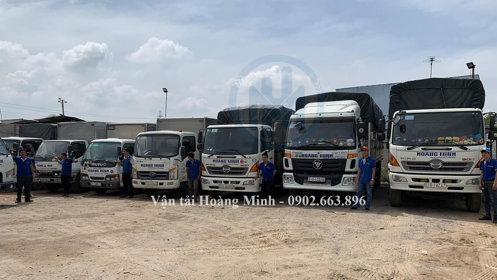 Chọn thuê xe tải chở hàng tại Vận tải Hoàng Minh, bạn sẽ nhận được lợi ích gì
