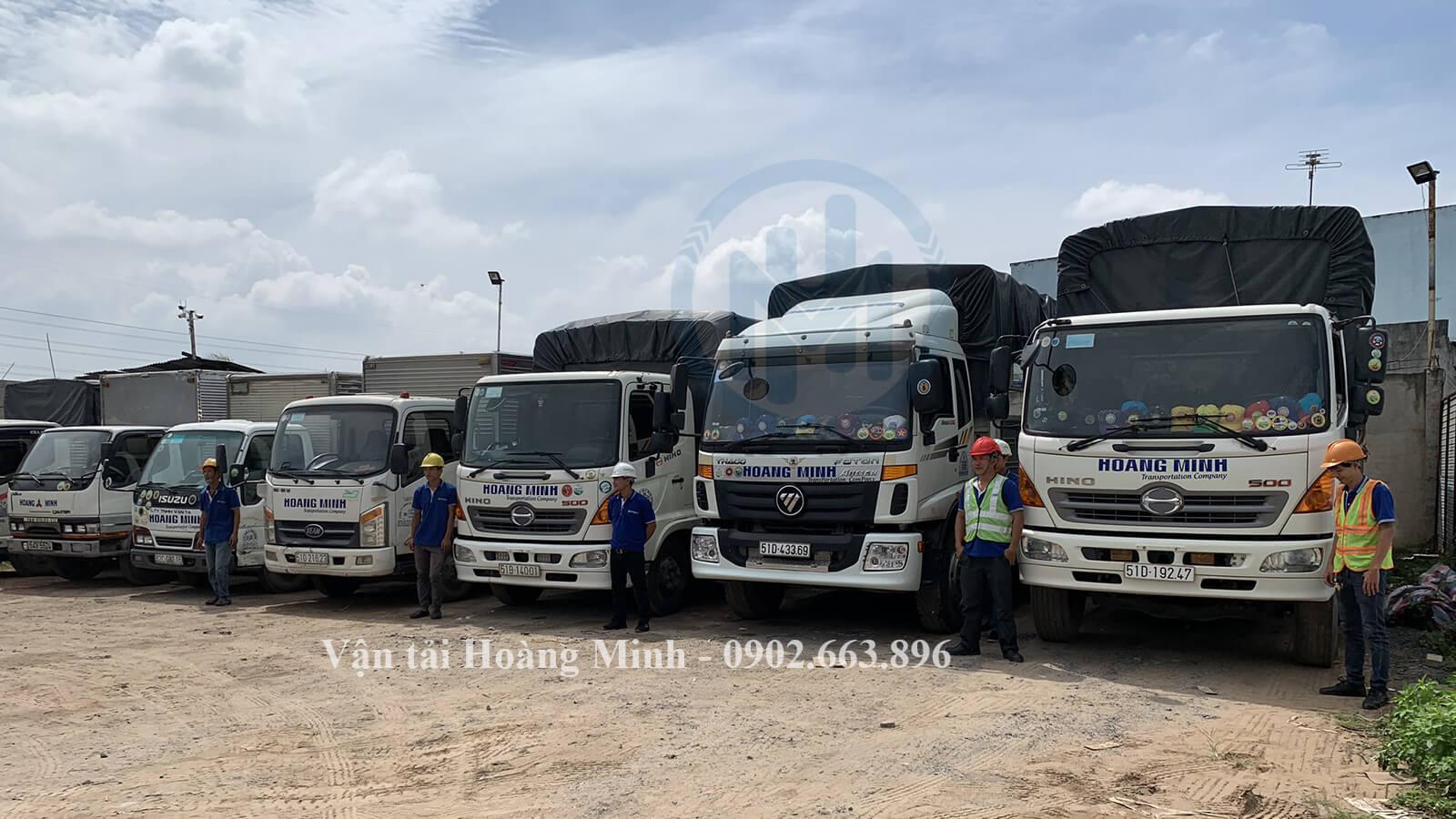 Công ty cho thuê xe tải chở hàng Quận 10 uy tín & chuyên nghiệp