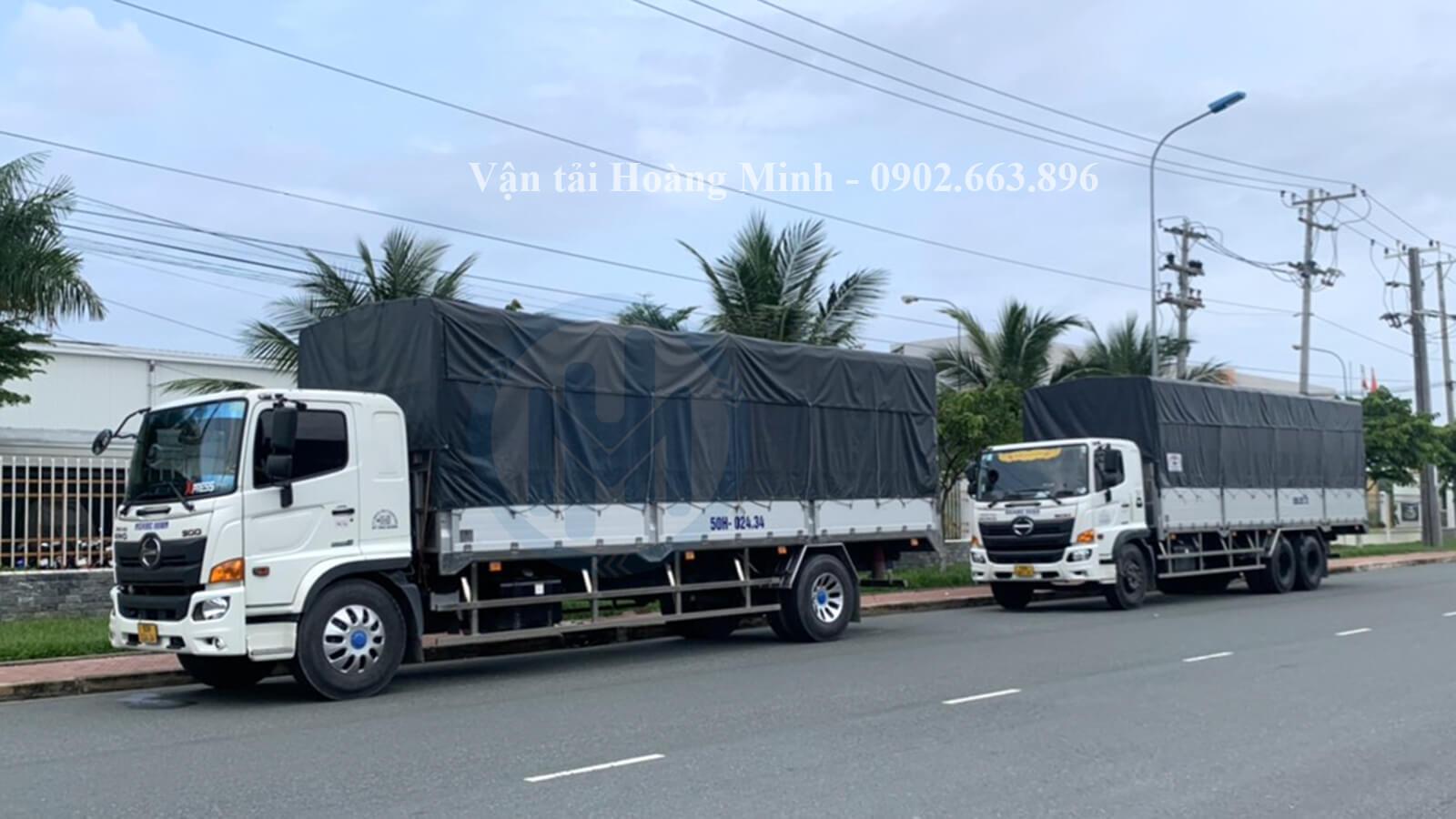 Dịch vụ cho thuê xe tải chở hàng Quận 8 uy tín tại TpHCM