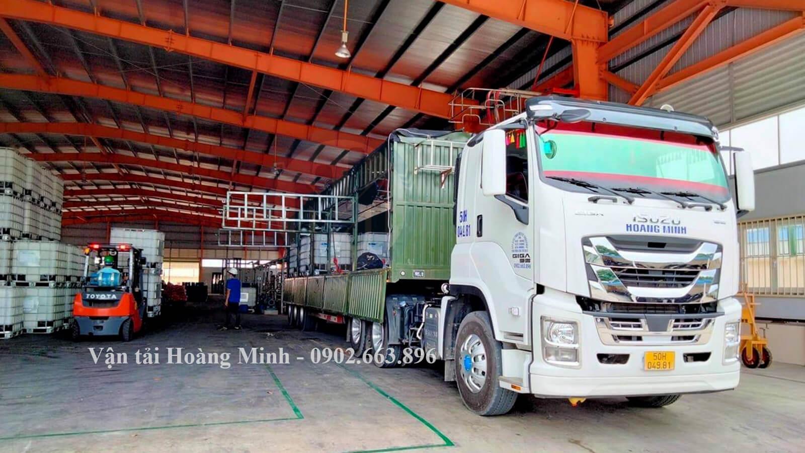 Kích thước thùng các loại xe của Vận tải Hoàng Minh