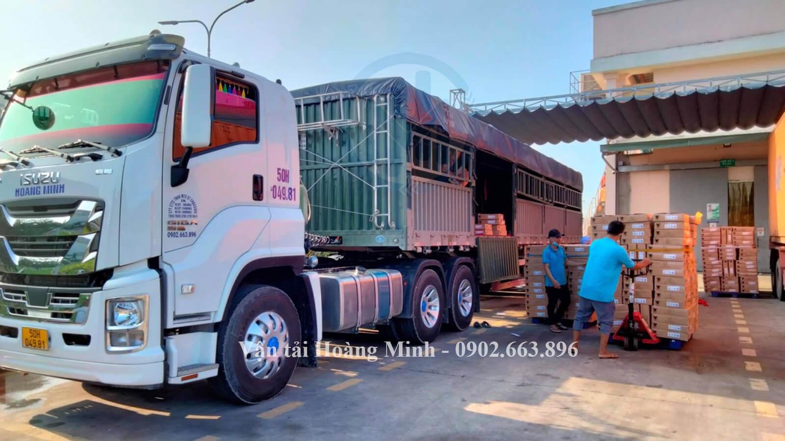 Làm sao để có thể sử dụng dịch vụ cho thuê xe tải chở hàng Quận 6 của Vận tải Hoàng Minh