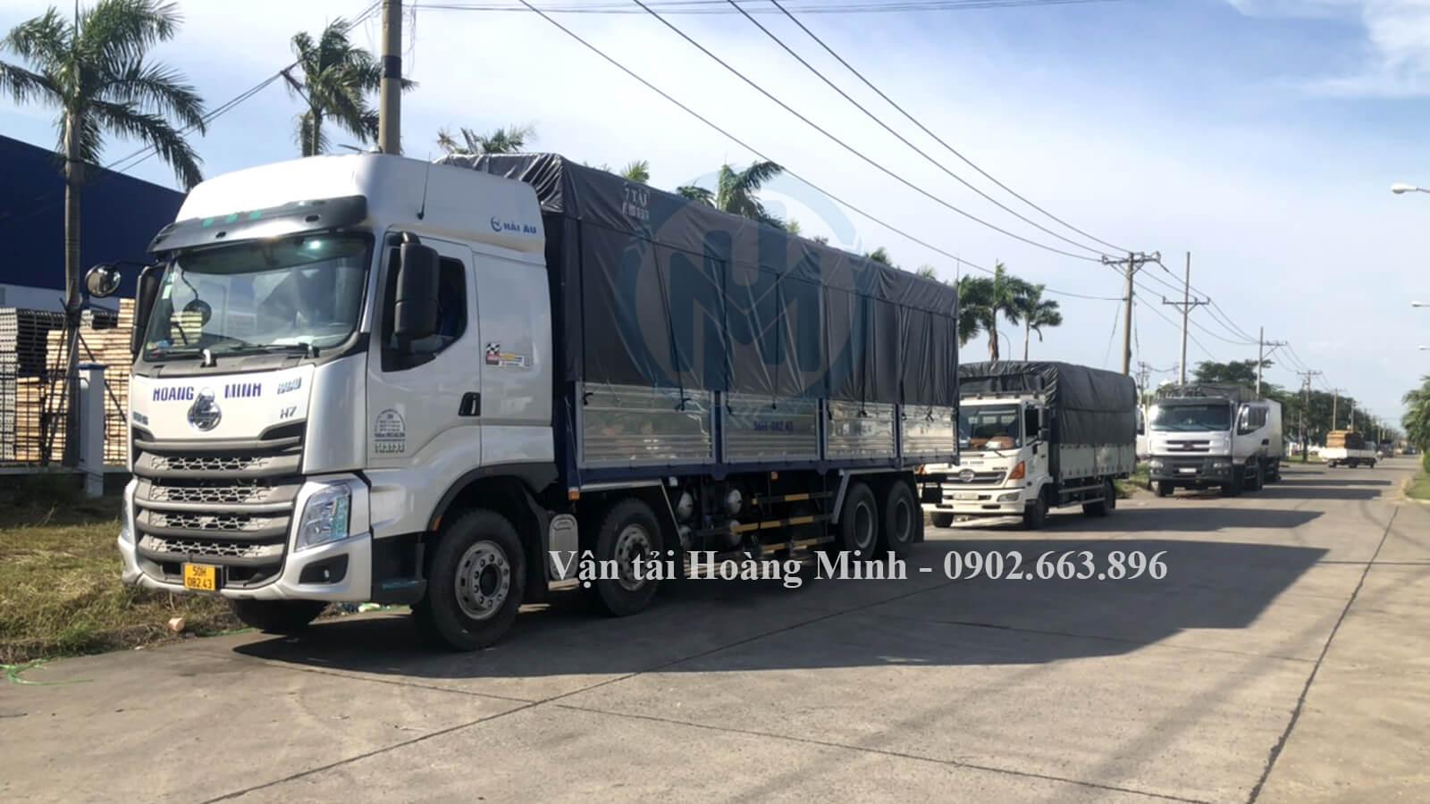 Phương án vận tải hàng hoá TPHCM cho các phương tiện vận chuyển