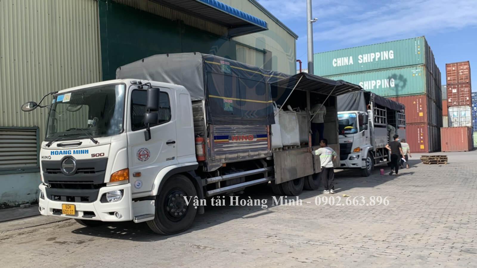 Thủ tục thuê xe tải chở hàng tại Vận tải Hoàng Minh như thế nào