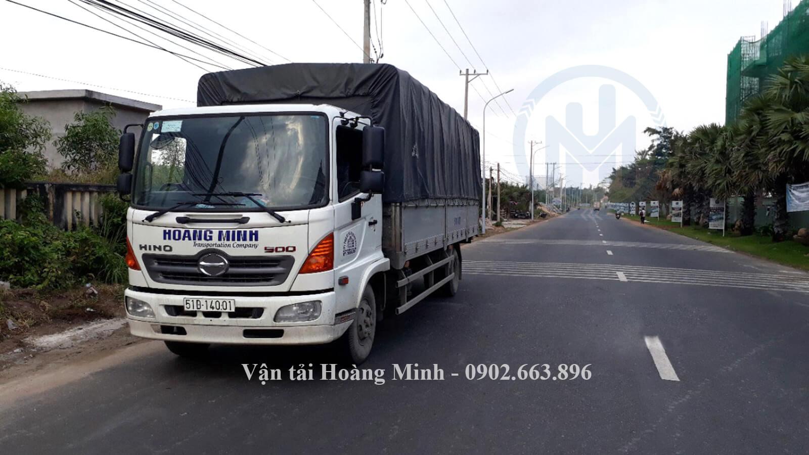 Vận tải Hoàng Minh cho thuê xe tải chở hàng đi tỉnh
