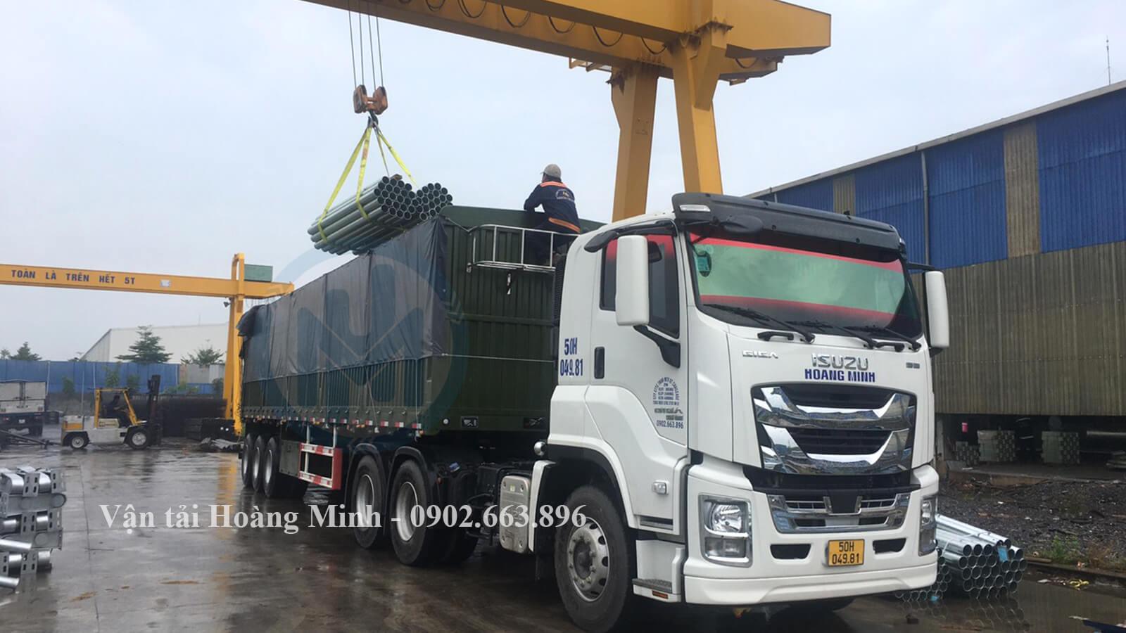 Vận tải Hoàng Minh cung cấp xe tải chở hàng Quận 5 có kích thước như thế nào
