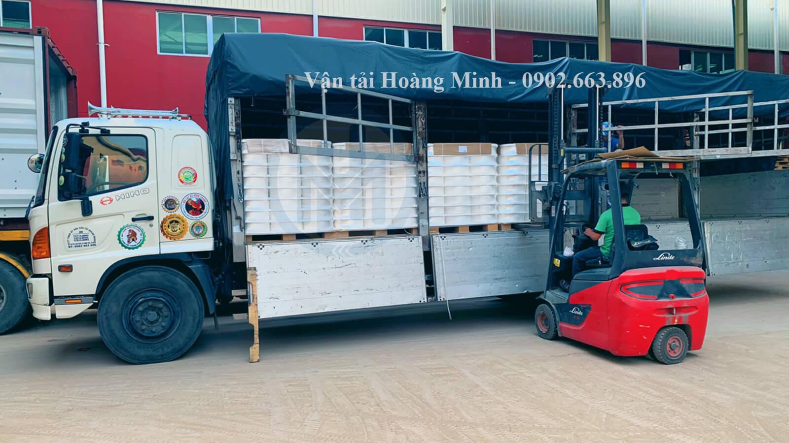 Vận tải Hoàng Minh cung cấp xe tải chở hàng Quận 8 có kích thước như thế nào