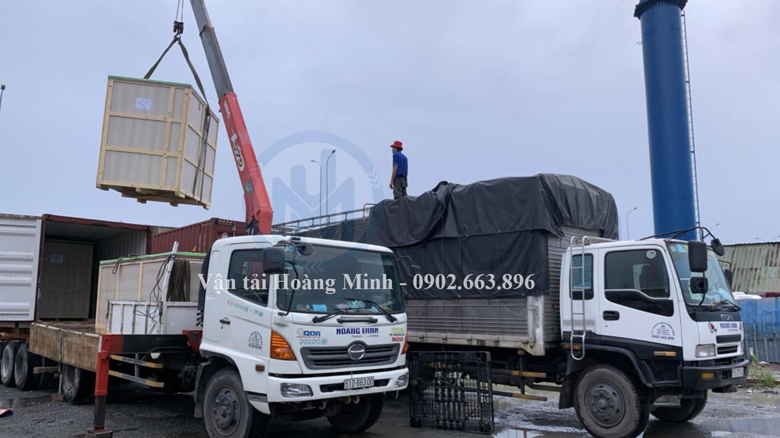 Vận tải Hoàng Minh có cho thuê xe tải chở hàng Quận 11 theo tháng không