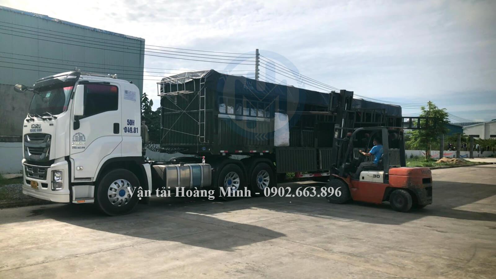 thuê xe tải chở hàng tại Vận tải Hoàng Minh, bạn sẽ nhận được lợi ích gì