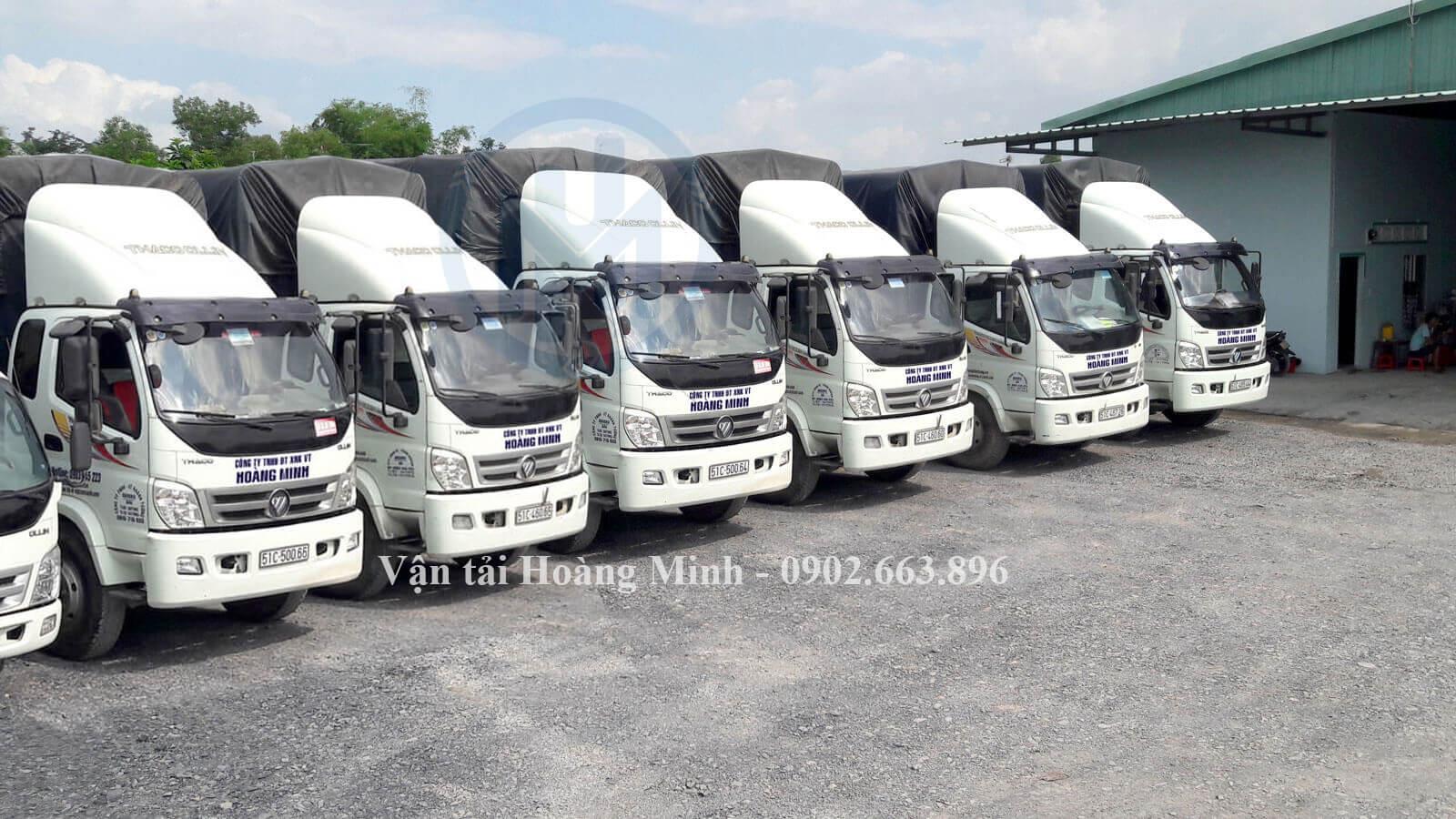 Cho thuê xe tải chở hàng Quận Tân Phú uy tín số 1 tại TPHCM