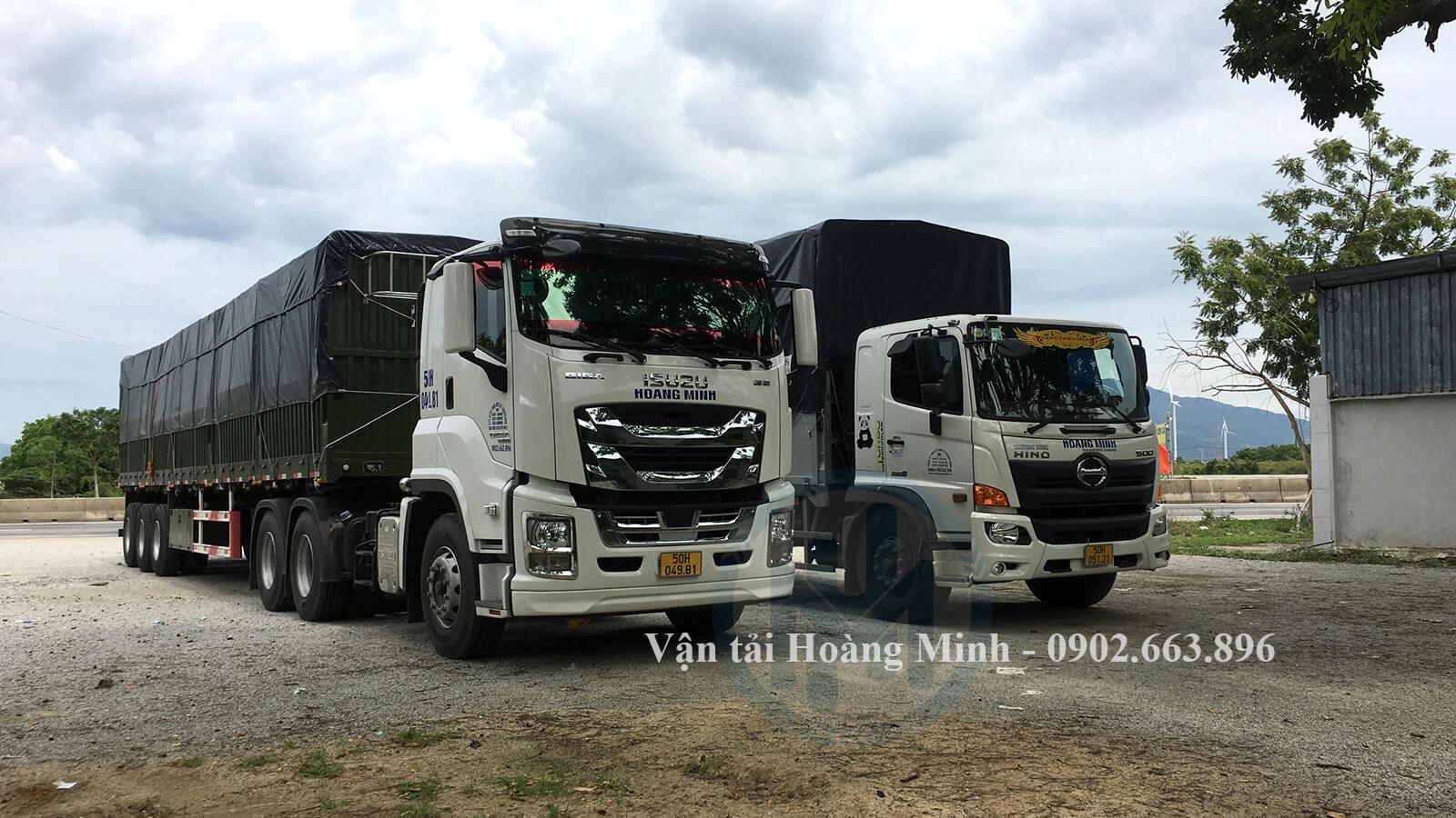 Dịch vụ xe tải vận chuyển hàng đi tỉnh