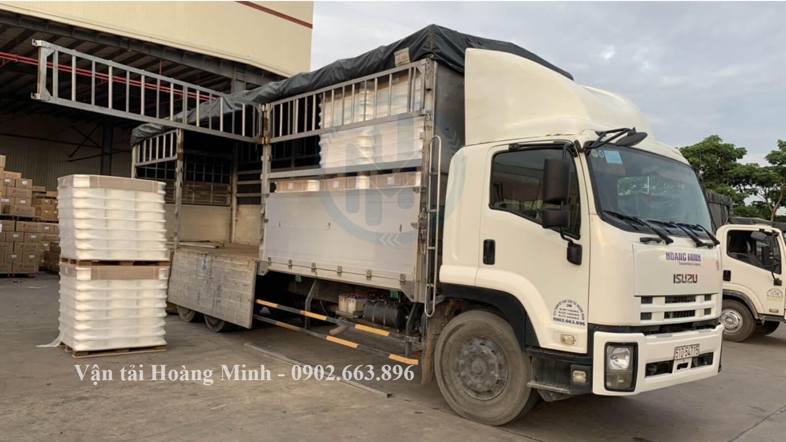 Kích thước thùng xe các loại xe tải chở hàng Quận Tân Phú của Vận tải Hoàng Minh